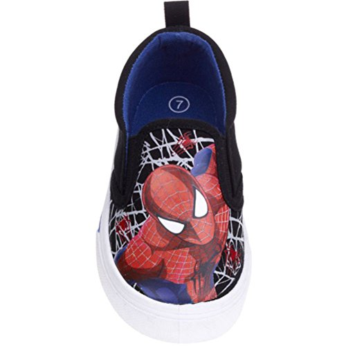 Marvel Spiderman Toddler Boys' Canvas Shoes (7)