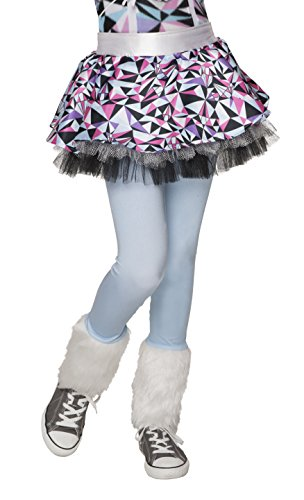 Yeti Costume Amazon (Monster High Child's Abbey Bominable Skeggings Tutu with Leggings)