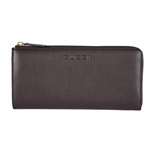 522009c9f0a0cd Gucci Women's Leather Zip Wallet 332747 2140 (Cocoa Brown) - Buy Online in  Oman. | Apparel Products in Oman - See Prices, Reviews and Free Delivery in  ...