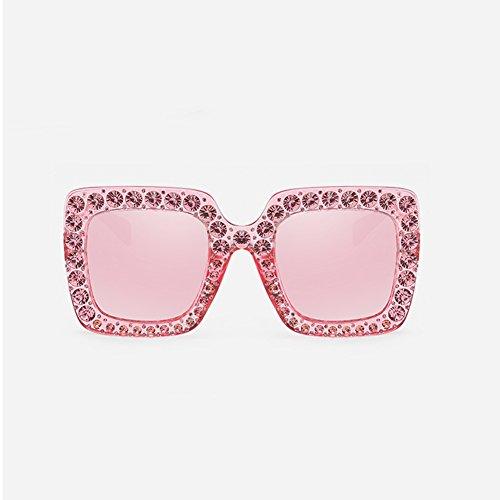 Transparent Color Luz pesca de sol Essentials sombra pink polarizadas BSNOWF Pink Mujeres Ojo Gafas Viajes Anti de UV Gafas IZaxgwAqOg