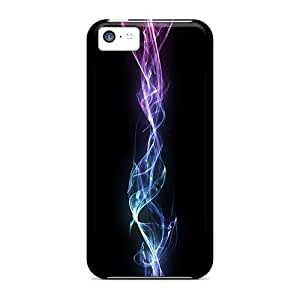 Tpu Case Cover For Iphone 5c Strong Protect Case - Energy Beam Design