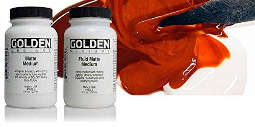 Acrylic Medium Golden Matte Medium 16 ()