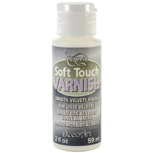 (DecoArt DS123-3 Americana Brush on Sealer, 2-Ounce, Soft Touch Varnish)