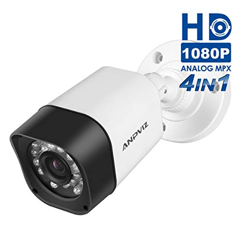 2.0MP IP Bullet POE Network Camera,1080P(1920X1080P) 3.6mm Lens,75° Wide-Angle, 20m IR Range,Motion Detection,Onvif H.265 IP POE Security Camera