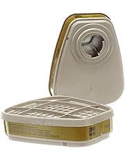 3M Multi-gas/Vapour Replacement Respirator Cartridge, 2 Cartridges (1 Pair)