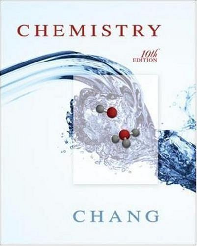 Chemistry 10th (tenth) Edition by Chang, Raymond published by McGraw-Hill Science/Engineering/Math (2009) Hardcover