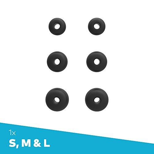Bragi Foam Tips Set (S,M,L) Black for Truly Wireless Earphones
