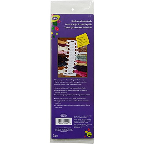 Loran Needlework Project Cards-11″X2.75″ 3/Pkg