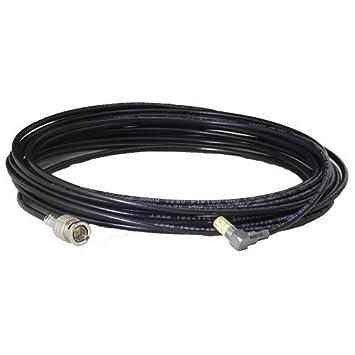 Azul Tela vaquera Cable 3 G/6G HD SDI Cable, en ángulo recto DIN