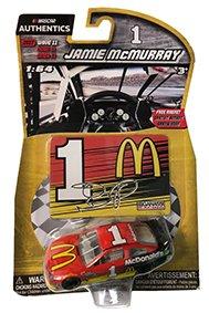 NASCAR Authentics 2017 Jamie McMurray #1 Diecast Car 1/64 Scale - Wave 11 - Jamie Mcmurray Game
