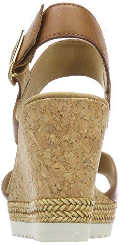 Gabor Dames Basic Sandaaltjes Bruin (pinda)