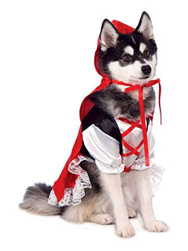 Rubie's Red Riding Hood Dog Costume]()