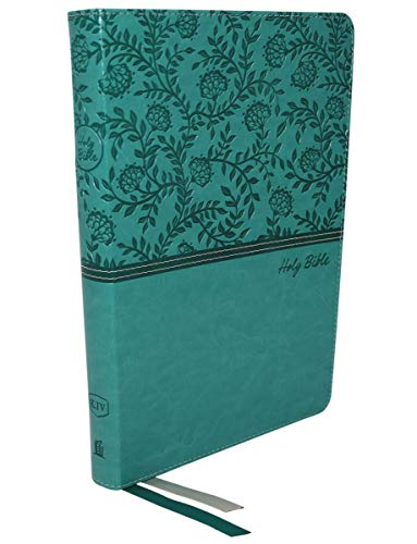 KJV, Thinline Bible, Large Print, Leathersoft, Green, Red Letter Edition, Comfort Print: Holy Bible, King James Version