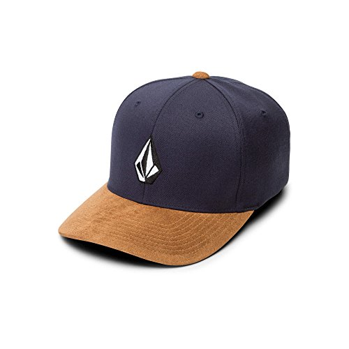 Volcom Men's Full Stone Heather Xfit Hat, Midnight Blue, Large/Extra Large ()