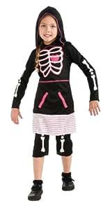 Rubie's Skeleton Girl Costume - Large (12-14)
