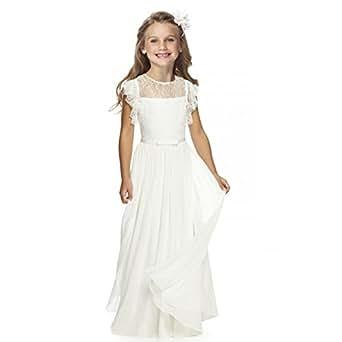 amazoncom fancy girls holy communion dresses 112 year