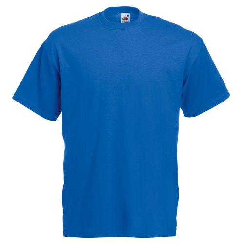 The Bleu Manches Pour Courtes shirt Loom Royal À Fruit Of T Homme qBUYvAnw