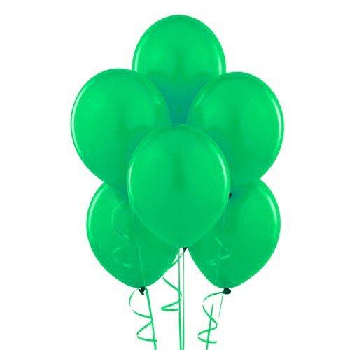 Homeford Premium Latex Balloons Plain Color, 12-Inch, Apple Green, 12-Pack