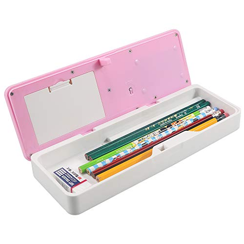(HUSAN NEW Smart School Electronic Pencil Case For Students Multifunctional Password Lock Pencil Box (Pink))