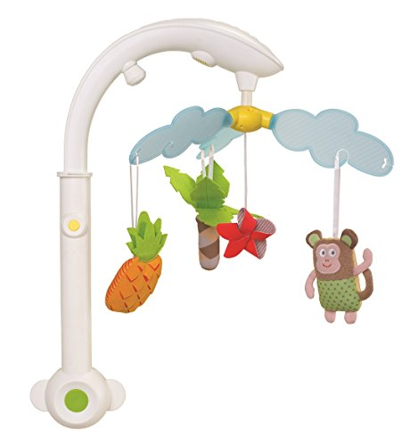 Taf Toys Baby Crib Mobile – Tropical Mobile with Light Projection and Music