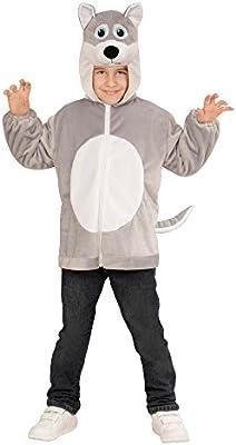 WIDMANN 97443 ? Disfraz para niños Lobo de Peluche, Chaqueta con ...