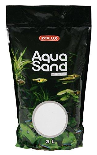 Arena para acuario Trendy blanco iceberg 3 L: Amazon.es: Productos para mascotas