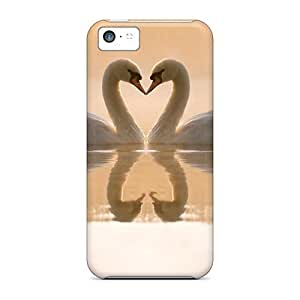 Slim Fit Tpu Protector Shock Absorbent Bumper Meet In The Lake Case For Iphone 5c Kimberly Kurzendoerfer