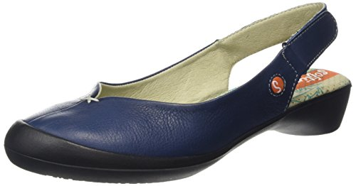 Softinos Farren - Zapatos Mujer Azul (Navy)