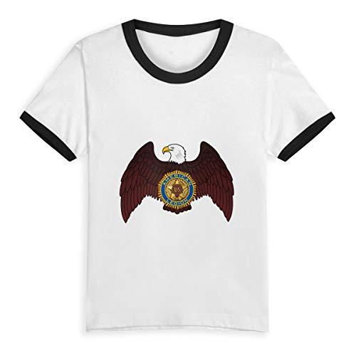 American Legion Riders Tees-Youth Short Sleeve Tee Kids Short T Shirts 3T - Tees Rider Youth
