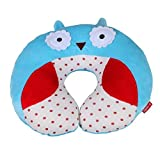 ENCOCO Kids Travel Neck Pillow U-Shaped Pillows Sized for Toddler, Preschool, Kindergarten, Elementary Children