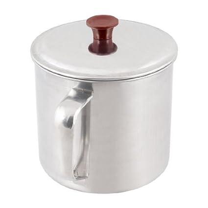 Amazon.com: 648ml de acero inoxidable taza de agua de 10 cm ...