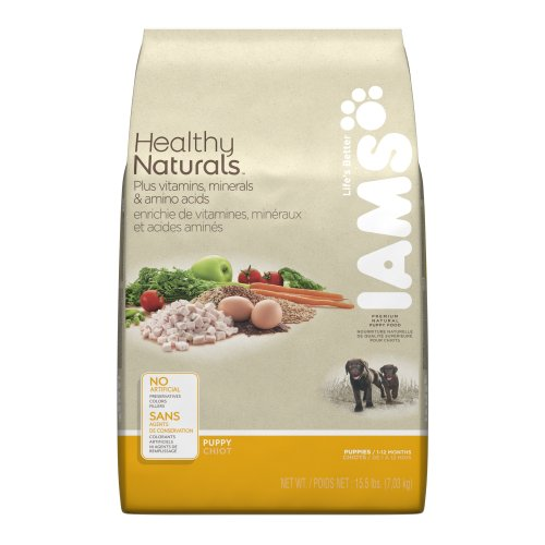 Iams Healthy Naturals Premium Puppy Food 15.5 Lbs, My Pet Supplies