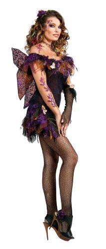 Rubie's Adult Night Shade Fairy Costume, Black,