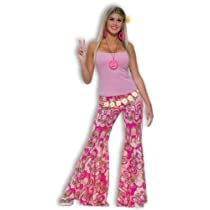 Forum Novelties Inc 60s Hippie Flower Power Bell Bottoms Adult Costume Size Standard