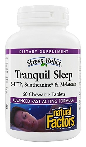 Natural Factors Stress Relax Tranquil Chewable product image