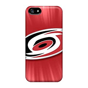Abratory4965 Perfect Tpu Cases For Iphone 5/5s/ Anti-scratch Protector Cases (carolina Hurricanes)