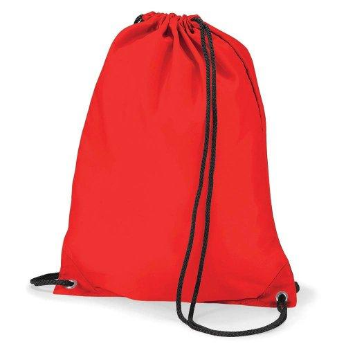 Black Orange Medium Unisex's Gymsac BagBase Bag BG005ORAN Budget q0q6xPX