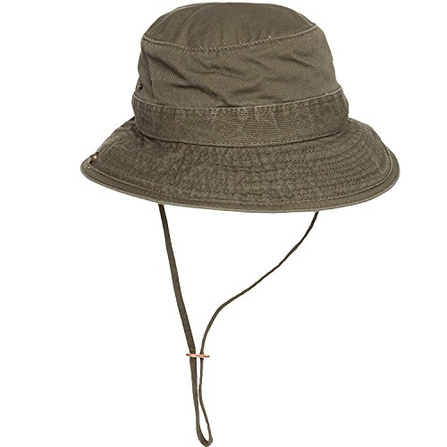Dorfman Pacific Mens Twill Bucket Hat