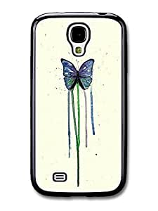 AMAF ? Accessories Butterfly Watercoloru Insect Blue Green Original Art Illustration case for Samsung Galaxy S4