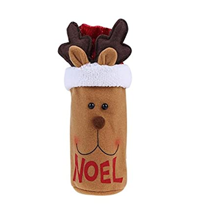 ... Wine Bottle Cover Bags Dinner Table Navidad 2017 Envio - Por Contorno Mochilas Zapatos Maquillaje Ropa Peru Dolar Palmolibe Impuestos - - Amazon.com