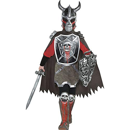 Deadly Knight Halloween Costume for Boys, Large, with Included Accessories, by Amscan]()