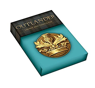 Dark Horse Deluxe Outlander Crown & Thistle Pin