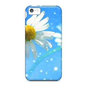 AYI31997Hcsb Snap On Cases Covers Skin For Iphone 5c(daisy Wheel Under The Snow)