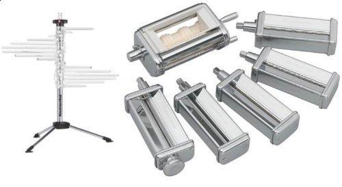 KitchenAid KPEX Pasta Excellence Set Attachment Pack+ kpdr rack