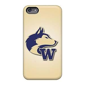 Apple Iphone 6 Plus BJX18334EKbk Provide Private Custom Fashion Washington Huskies Skin Bumper Hard Phone Covers -RandileeStewart