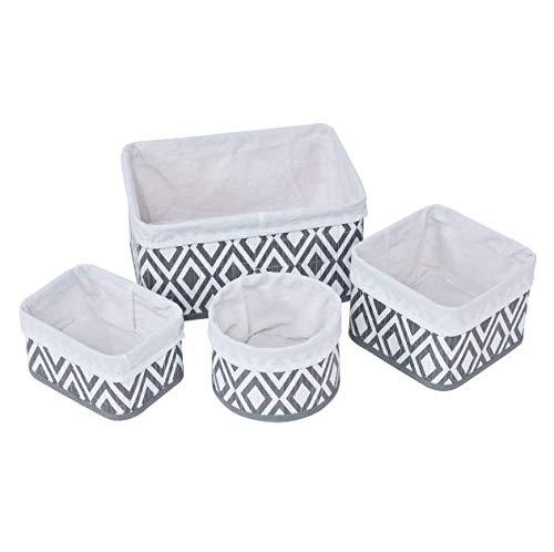 Cypress Basket - Cypress Shop Storage Baskets Diamond Pattern Design Fabric Lined Bamboo Baskets Home Storage Organizers Gadgets Bin Ornaments Accessories