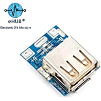 eHUB Ultra Small 5V Micro USB DIY Powerbank Charging Module Circuit Board Step Up with LED Indicator