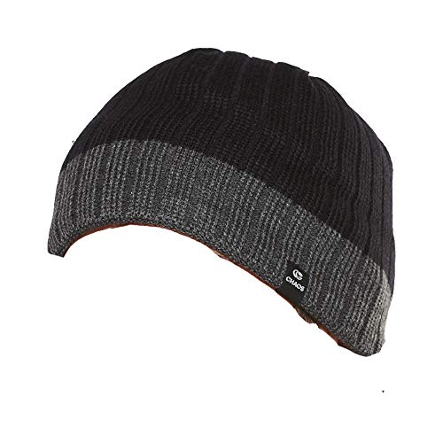 Chaos Tech 3 Beanie (Black/Grey)