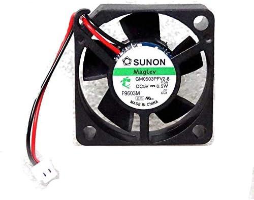 N / A Cooler Fan for Sunon 30mm x 10mm MagLev Fan 5V DC 0.5W Mini 2 Pin Molex Picoblade GM0503PFV2-8
