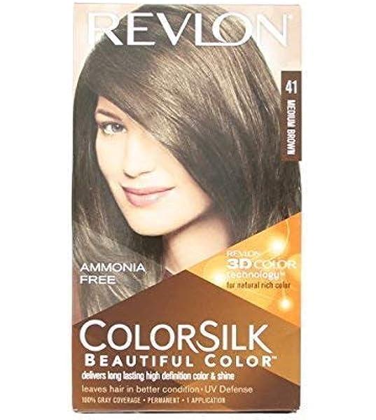 Revlon - Tinte Sin Amoniaco Colorsilk Revlon Castaño ...